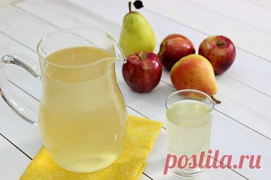 7 рецептов компотов из яблок и груш.