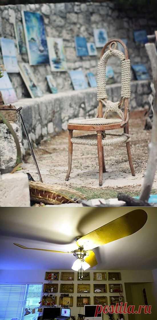 Старый-старый-старый стул / Мебель / Модный сайт о стильной переделке одежды и интерьера