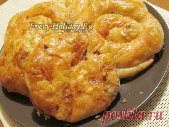 """Пирожки """"Варзэре"""" с капустой, рецепт с фото"""