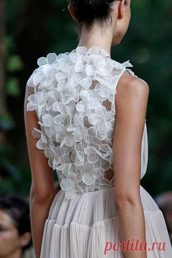 Фактурная спинка / Декор спины / Модный сайт о стильной переделке одежды и интерьера