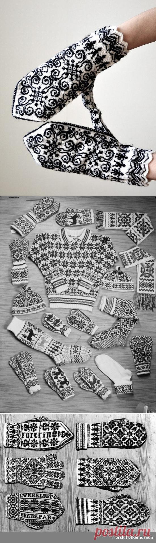 Традиции вязания, или история знаменитых узорных варежек