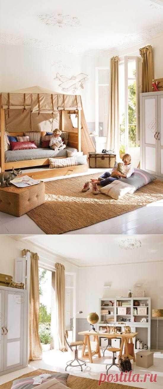 Детская комната маленького путешественника