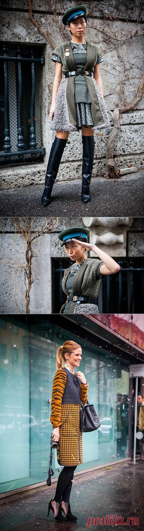 Великий комбинатор / Street Style / Модный сайт о стильной переделке одежды и интерьера