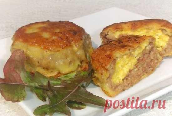Зразы с сырной начинкой: идеальное сочетание!