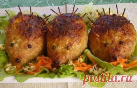 Ежики в итальянском стиле | Рецепты салатов