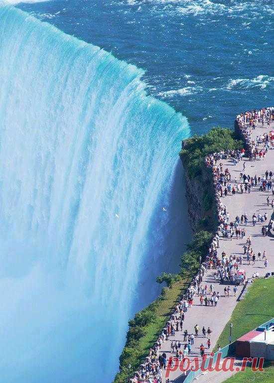 Могучий Ниагарский водопад! Северная Америка