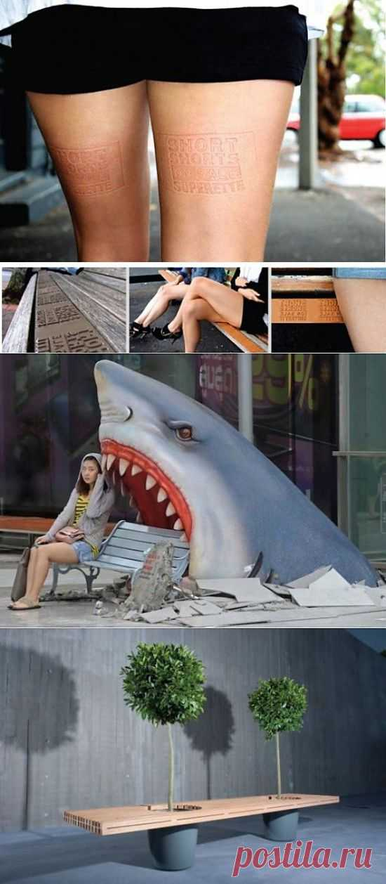 26 Cool and Creative City Benches   FunCage