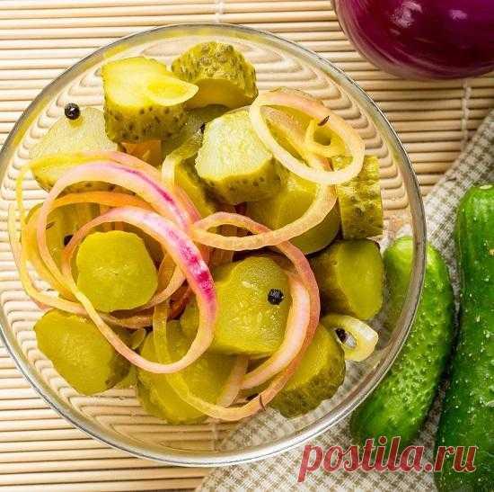 Закуски из огурцов на зиму с разными овощами: рецепты