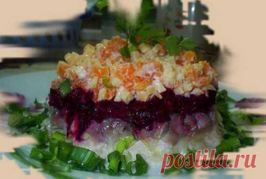 Наваждение— салат из сельди « Рецепты салатов