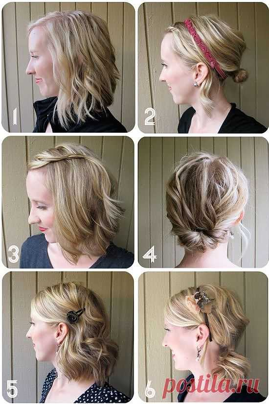 Отличные прически для волос средней длины: будь разной!