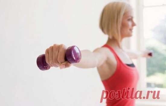 Варианты упражнения от провисания кожи на руках (фото): как делать