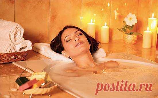 Лечебные ванны от целлюлита: эффективные рецепты