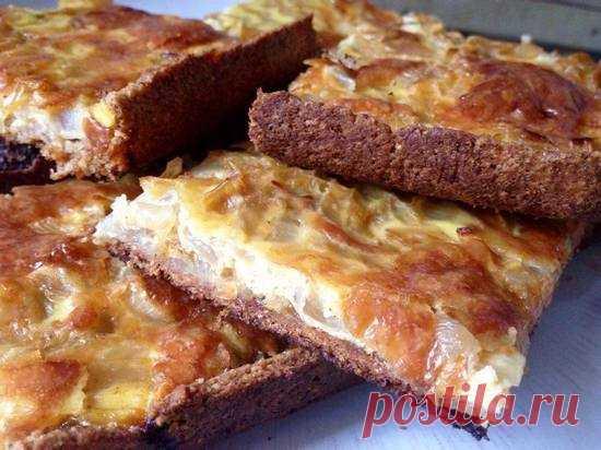 Простой луковый пирог - pristalnaya