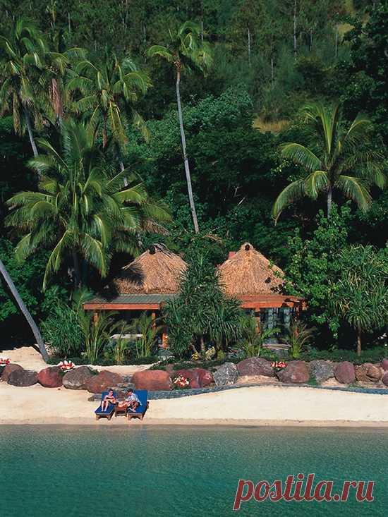 Пляж на двоих. Остров Тартл, Фиджи
