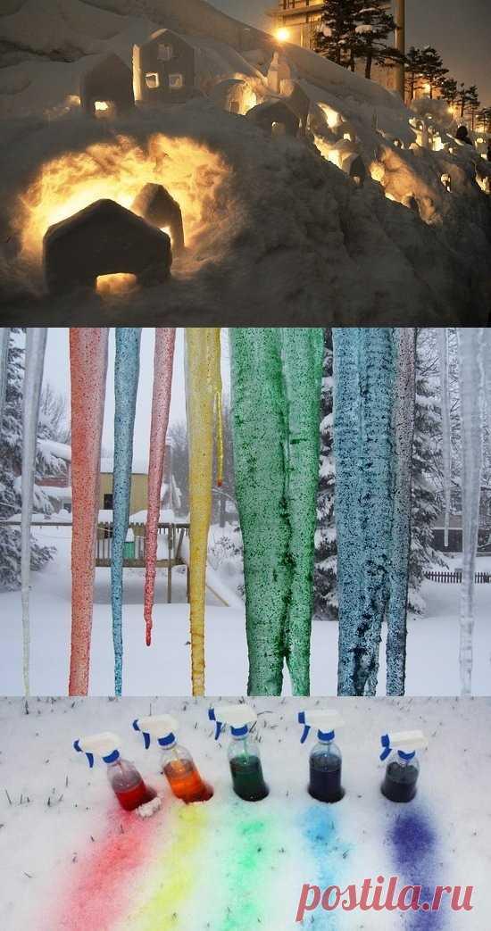 Успеть с детьми пока еще зима!