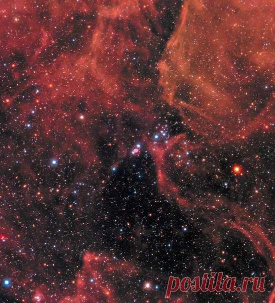 Телескопы запечатлели космический взрыв из прошлого / Astro Analytics