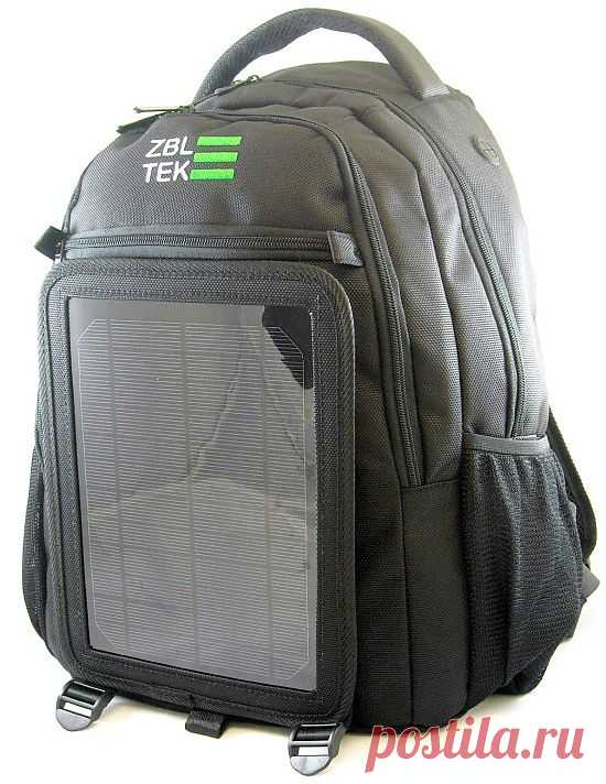 — Гаджеты: ранец с фотоэлементами