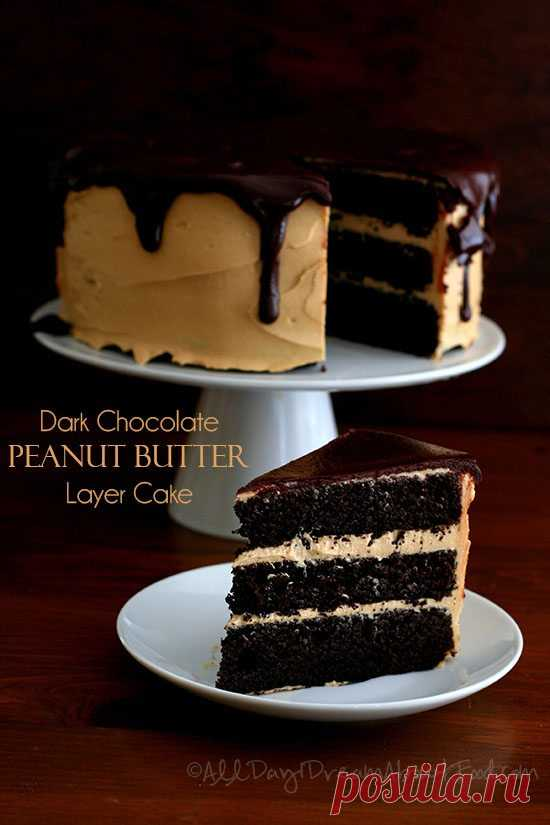 Dark Chocolate Peanut Butter Layer Cake – Low Carb and Gluten-Free My best low carb chocolate cake recipe yet! Rich chocolate flavor with a creamy peanut butter frosting and sugar free chocolate ganache. I have a theory and I'd like to share it with you. It's very deep, very serious, and it requires careful consideration. It may change life as we know it. It may change the way you perceive everything in the world. From this moment forward, nothing will be the same again....