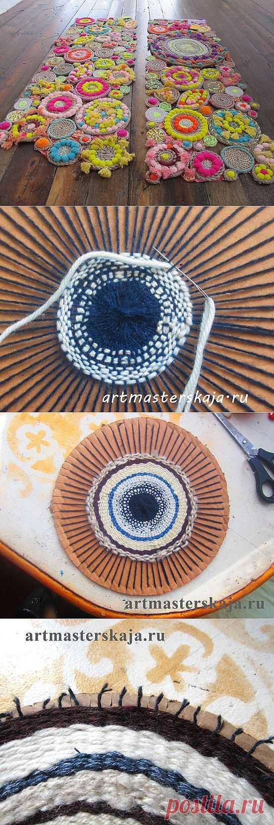 вязание дорожек на картоне вилкой пошагово фото голландской школы живописи