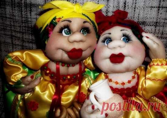 Куклы из капрона и синтепона: мастер-класс для начинающих