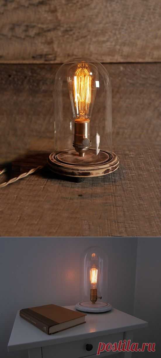Светильник в стиле кантри (Diy) / Освещение / Модный сайт о стильной переделке одежды и интерьера