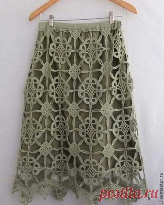 Красивая юбка крючком