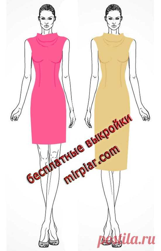 a90d22ec1a75e5f free pattern, выкройки скачать, выкройки платьев, шитье, готовые выкройки,  cкачать,