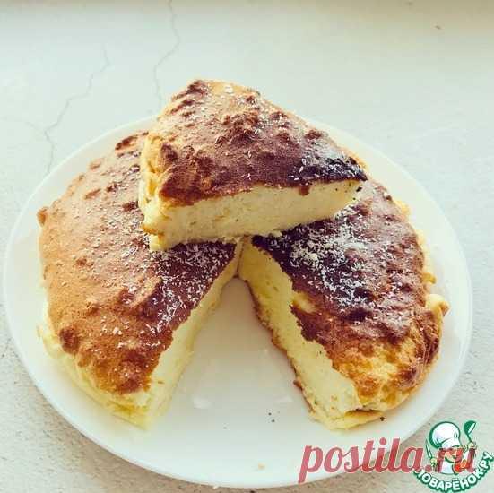 Йогуртовый пирог без муки, масла и сахара Кулинарный рецепт
