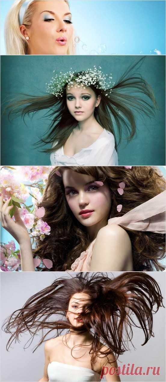Los cabellos hermosos en primavera: 5 reglas de la partida