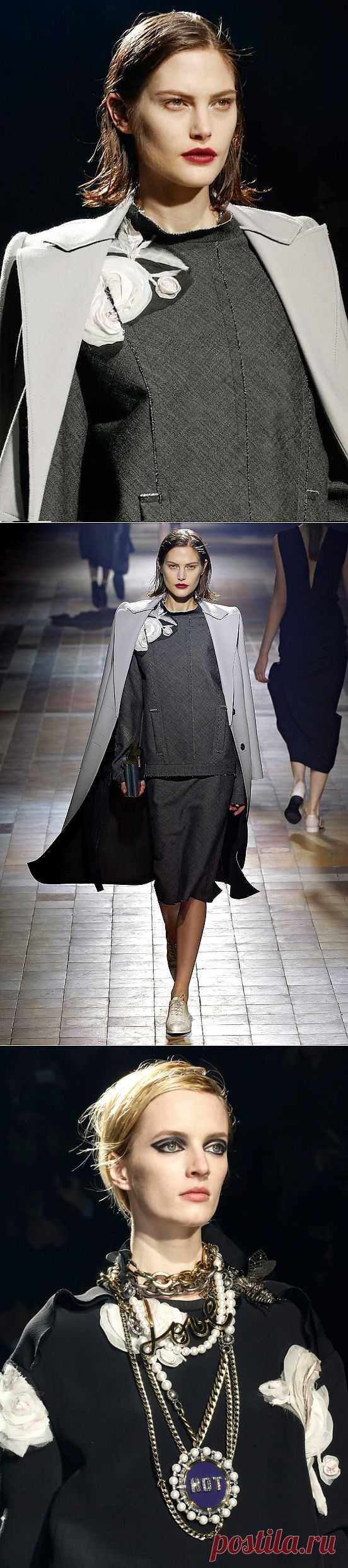 Розовый разрез / Декор / Модный сайт о стильной переделке одежды и интерьера