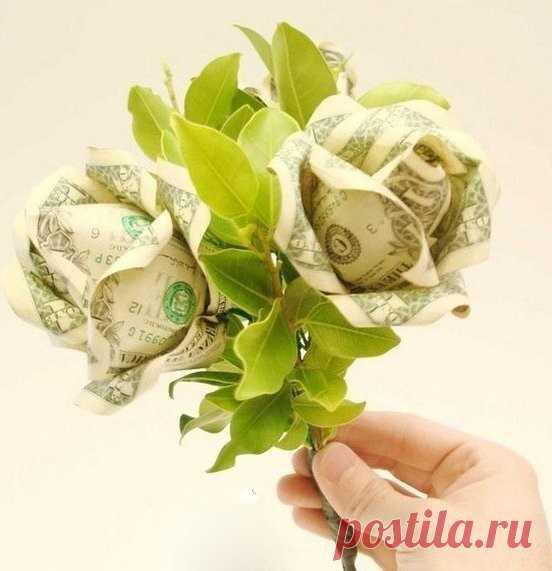 Денежные розы