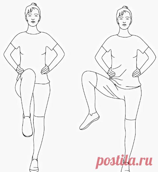 Подвижный тазобедренный сустав и качественное кровообращение органов тазовой области за счет выполнения упражнений дома. | health and beauty | Яндекс Дзен