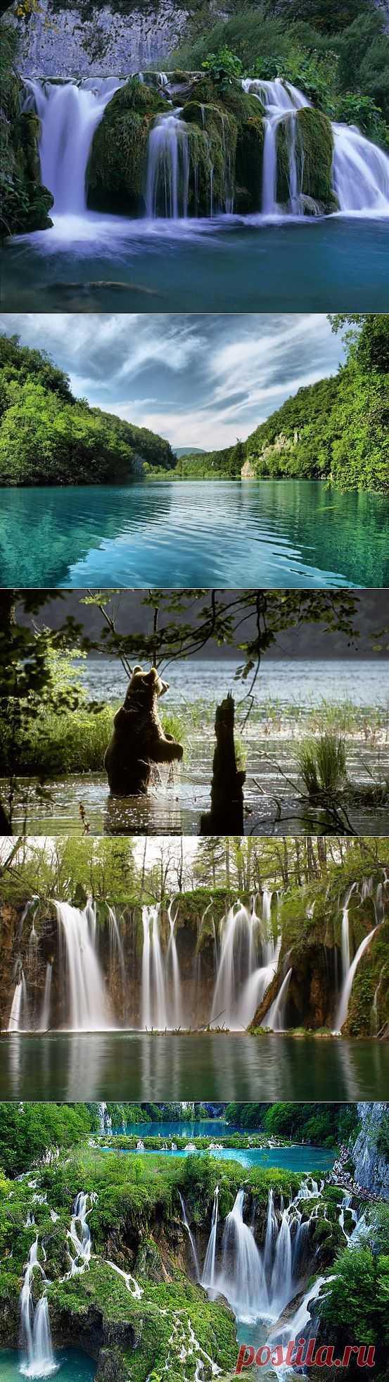 (+1) - Хорватия. Плитвицкие озёра | ТУРИЗМ И ОТДЫХ