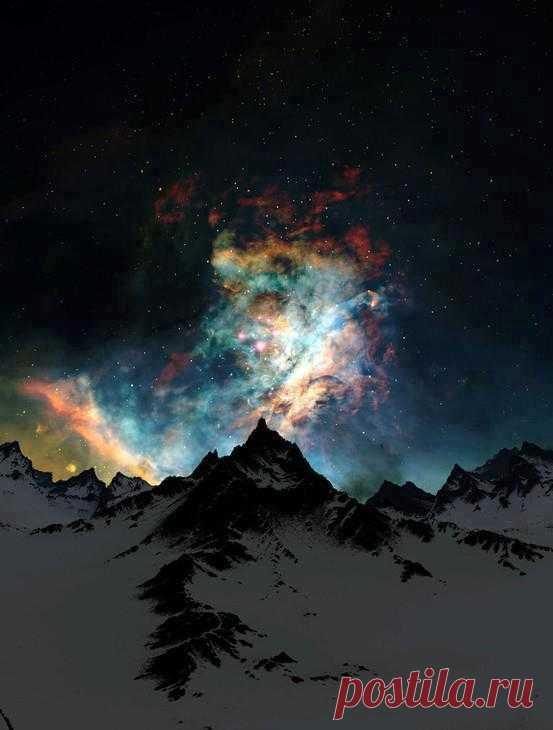 У природы есть свое потрясающее световое шоу. Северное сияние на Аляске