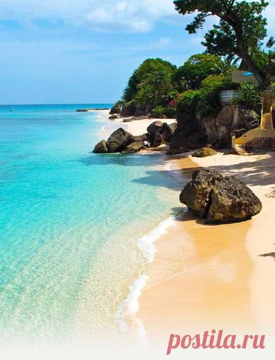 Ну просто райский пляж! Остров Барбадос