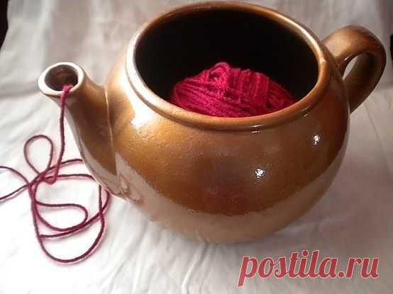 Чайничек! Просто Чайничек / Вязание / Модный сайт о стильной переделке одежды и интерьера