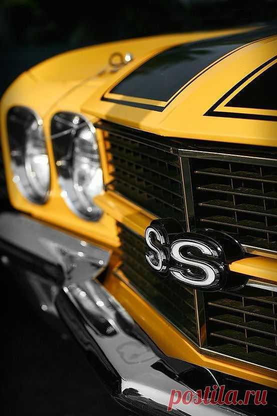 """Original Chevrolet Camaro SS 1969 - пожалуй самые известные """"ss"""" на решетке радиатора ..."""