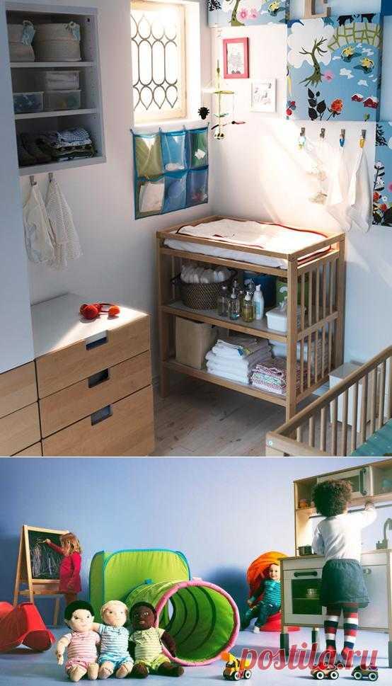 Идеи от Икеи для детской комнаты