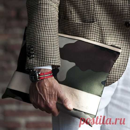 Мужской клатч / Мужская мода / Модный сайт о стильной переделке одежды и интерьера