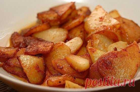 Картошка жареная в мультиварке в разы полезнее и вкуснее!
