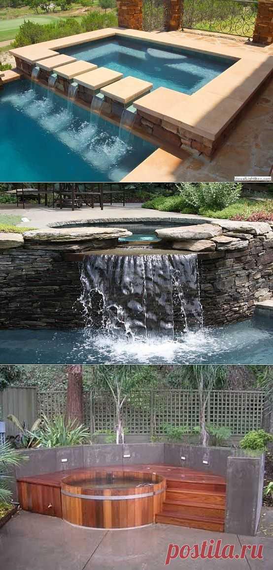 Ванна с гидромассажем, 48 идей реализации. | Проект Дома