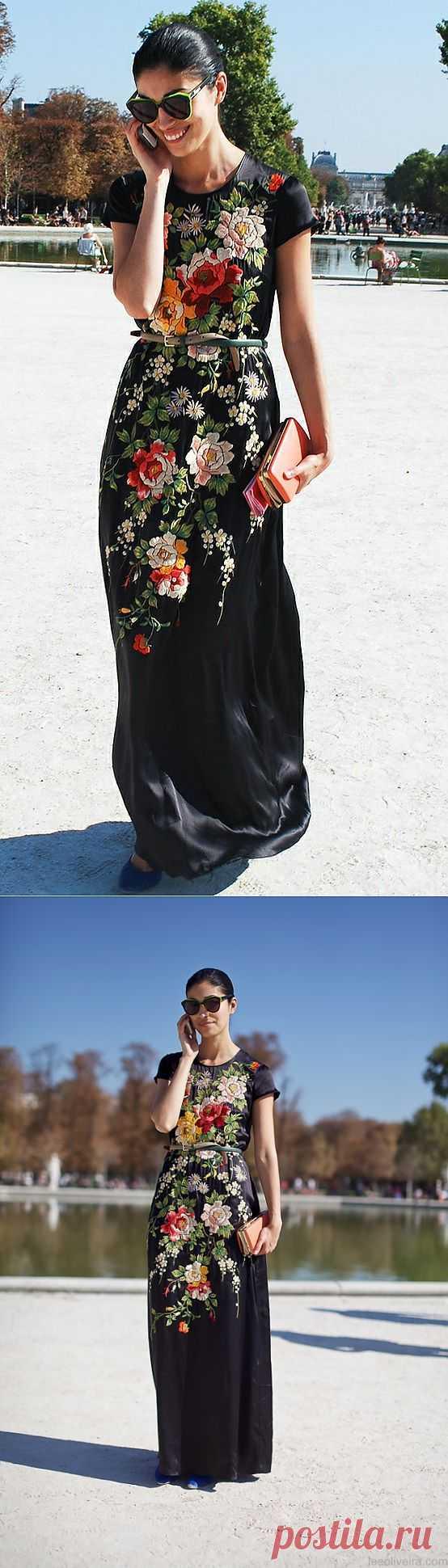 Платье с вышивкой / Вещь / Модный сайт о стильной переделке одежды и интерьера