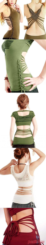 Плетёные прорези (трафик) / Прорези / Модный сайт о стильной переделке одежды и интерьера