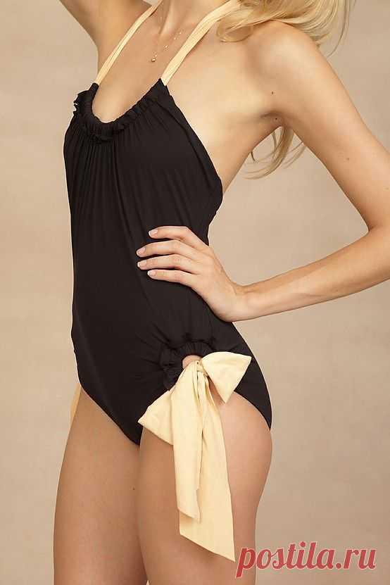 Простой купальник / Купальники / Модный сайт о стильной переделке одежды и интерьера