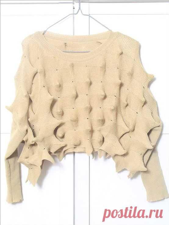Математика на спицах / Вязание / Модный сайт о стильной переделке одежды и интерьера
