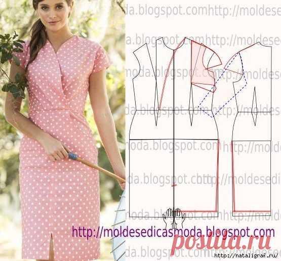 We sew-model new dresses