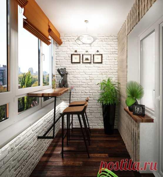 Уютный балкoн