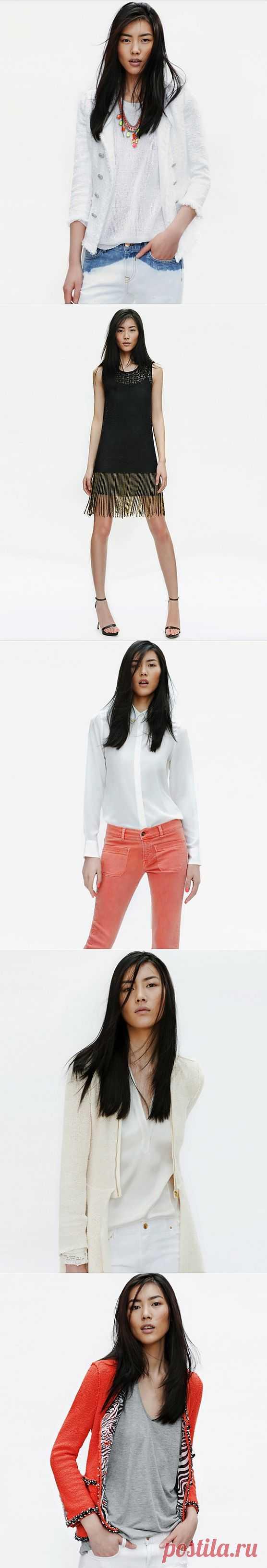 Позднее зажигание Zara / Лукбуки / Модный сайт о стильной переделке одежды и интерьера