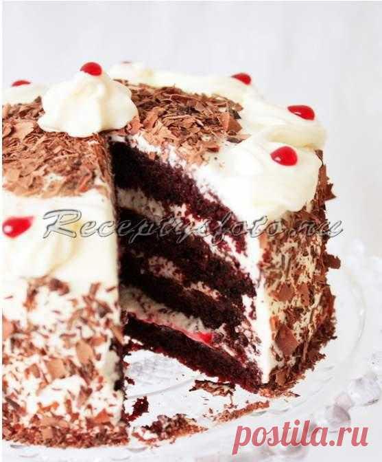 """Шоколадный торт """"Черный лес"""""""