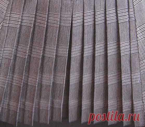 Como poner rápidamente los pliegues sobre la falda con la ayuda … los tenedores | razpetelka.ru